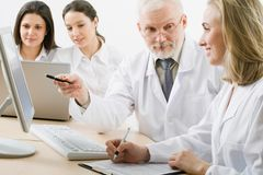 Medicine team Stock Photo