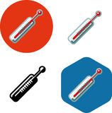 Medicine thermometer icon Stock Image