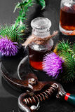Medicine from the Thistle Royalty Free Stock Photo