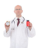 Medicine time Royalty Free Stock Image
