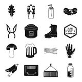 Medicine, transportation, kitchen and other web icon in black style.. Medicine, transportation, kitchen and other  icon in black style. hairdresser, equipment Royalty Free Stock Photo