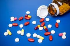 Medicine usage Royalty Free Stock Photo