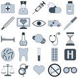 Medicine vector icons Royalty Free Stock Photo