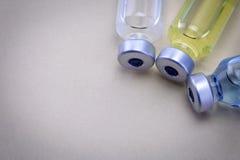 Medicine vials  Stock Photos