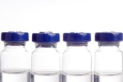 Medicine in Vials Stock Photo