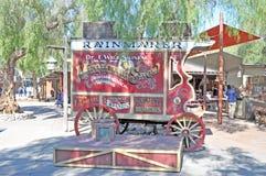 Medicine Wagon stock photography