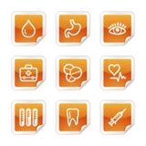 Medicine web icons Royalty Free Stock Image