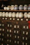 medicinen shoppar Arkivbild
