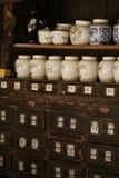 medicinen shoppar Arkivbilder