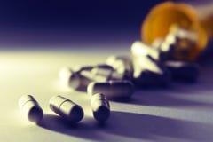 medicinen tar ditt Fotografering för Bildbyråer