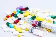 mediciner Fotografering för Bildbyråer