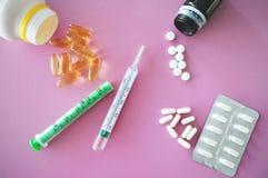 Mediciner för hälsa royaltyfri fotografi