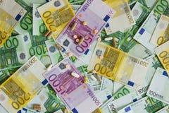 Mediciner och euroet Royaltyfria Foton