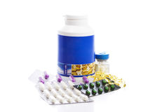 Medicines Royalty Free Stock Images