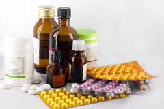 medicines 2 Royalty Free Stock Photos