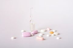 Medicines Royalty Free Stock Photography