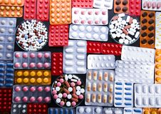 Medicines Royalty Free Stock Photos