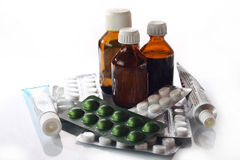 Medicines royalty free stock photo