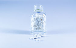 Medicines in the bottl Stock Photos