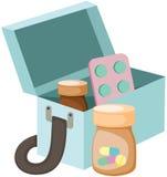 Medicines box Stock Photos