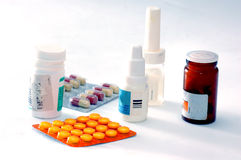 Medicines and drugs Stock Images
