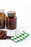 Medicines and drugs Royalty Free Stock Photography