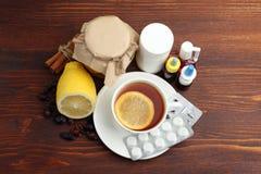Medicines and folk treatments Stock Photo