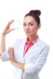 Medicines in hand of doctor Royalty Free Stock Photo