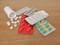 Medicines. Royalty Free Stock Photography