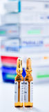 Medicines vial Stock Images