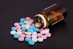 medicinpills Arkivbild