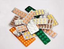 medicinpills Royaltyfri Foto