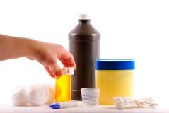 medicinsäkerhet Arkivbild