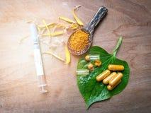Medicinsk örtnatur för drog Royaltyfri Fotografi