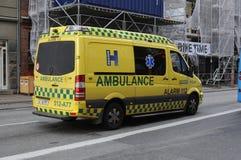 Medicinsk ambulans royaltyfria bilder
