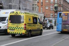 Medicinsk ambulans arkivfoton