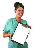 medicinsk användarepersonal Arkivfoto