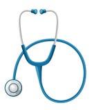 Medicinsk bakgrund för hälsovårdbegrepp med stetoskopet Stetoskopläkarundersökning, stetoskoputrustning, medicinstetho royaltyfri illustrationer