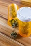 Medicinsk cannabis eller marijuana Royaltyfri Foto