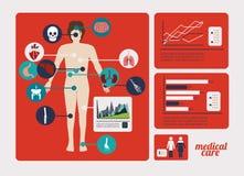 Medicinsk design Arkivfoto