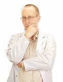 Medicinsk doktor som väntar den nästa tålmodign Royaltyfria Bilder