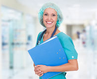 Medicinsk doktorskvinna royaltyfri bild