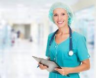 Medicinsk doktorskvinna fotografering för bildbyråer