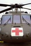 Medicinsk evakueringshelikopter royaltyfri foto