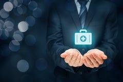 Medicinsk försäkring arkivfoton