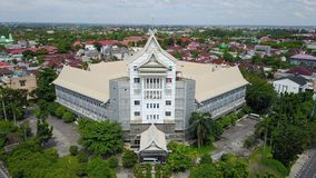 Medicinsk fakultet Riau universitet, Pekanbaru - Riau, Indonesien royaltyfria bilder