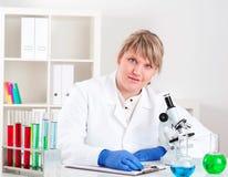 Medicinsk forskning Royaltyfri Foto