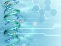 Medicinsk forskningbakgrund Arkivfoton
