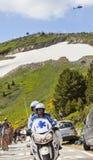Medicinsk hjälpcykelTour de France Royaltyfria Foton