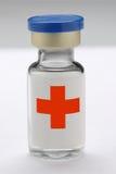 medicinsk injektionssprutaliten medicinflaska Arkivbild